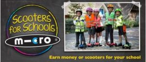 Micro scooters for schools image