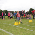 Ollie Denton in hurdles