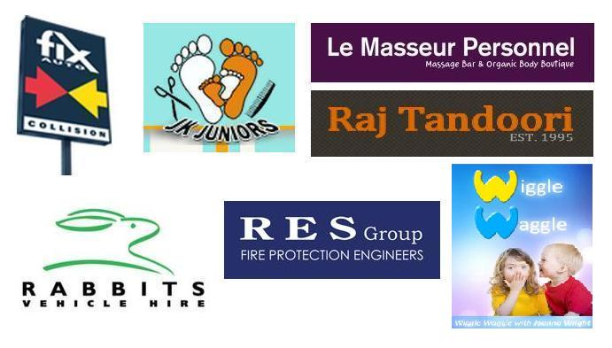 Race Night 2015 company sponsors logos
